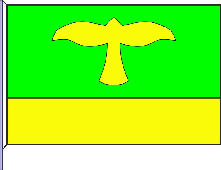 Prapor obce Kanice
